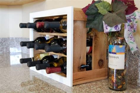 base cabinet wine storage chic handmade square lacquered wooden small wine rack on
