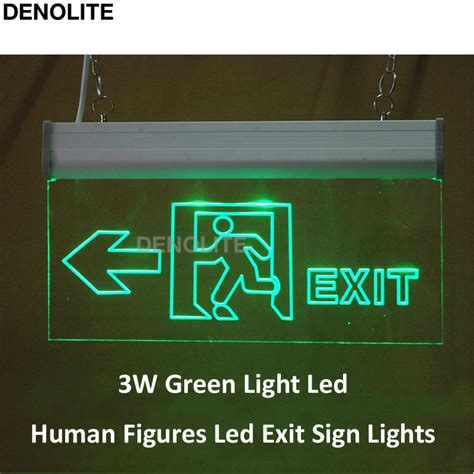 exit signs with emergency lights online get cheap exit sign led aliexpress com alibaba group