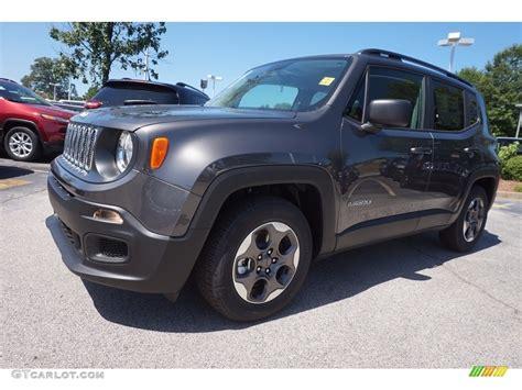 granite jeep renegade 2016 granite metallic jeep renegade sport