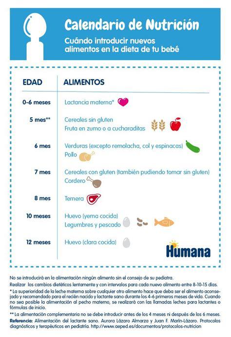 tabla de alimentos para bebes m 225 s de 25 ideas incre 237 bles sobre tabla de alimentaci 243 n del