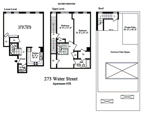 how to show stairs in a floor plan duplex manhattan loft guy