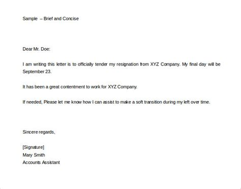 33 two weeks notice letter templates pdf doc free