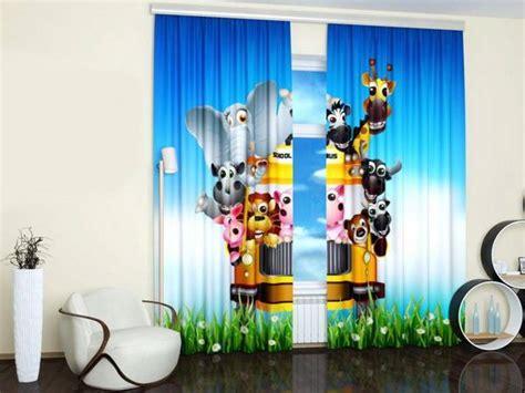 curtain ideas for kids room custom photo curtains adding digital prints to kids room