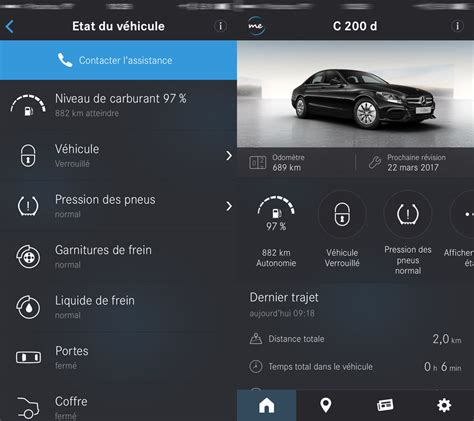 mobile me app mobile me votre voiture n a pas de secrets pour mercedes