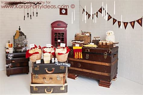 harry potter decoration ideas kara s ideas harry potter planning ideas cake
