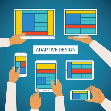 adaptive layout web design stock graphic adaptive app design 187 logotire com