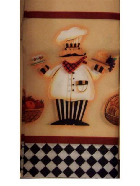 chef kitchen curtains tiers swag window set