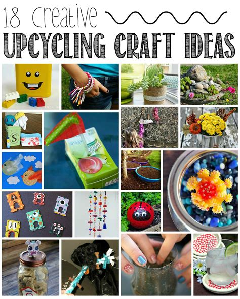 upcycled craft projects crafts ideas for upcycling