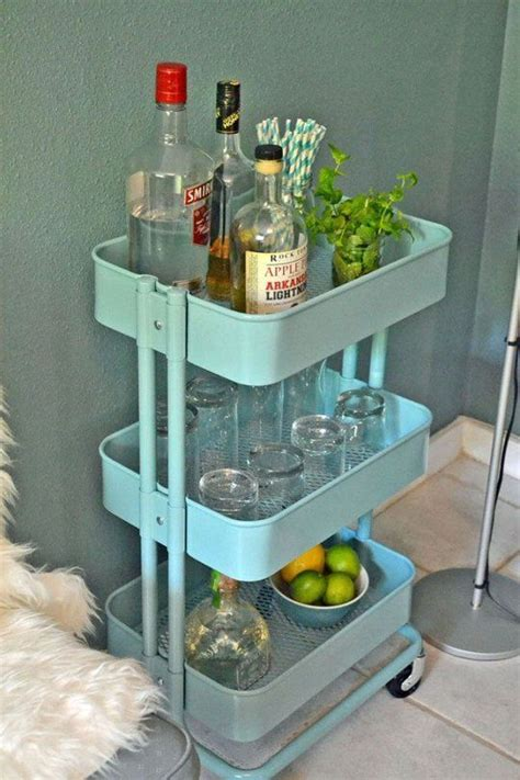 ikea raskog 60 smart ways to use ikea raskog cart for home storage