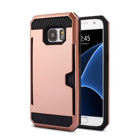 Samsung Galaxy S7 Edge Armor Soft Cover Casing Sarung Bumper Tpu wholesale samsung galaxy s7 edge credit card armor gold