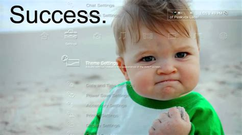 Yes Baby Meme - meme success kid dynamic theme youtube