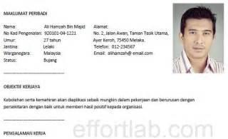 contoh cover letter untuk resume bahasa melayu cover