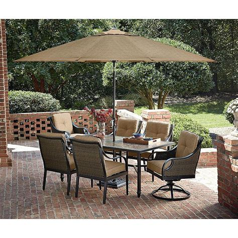 sears patio dining set la z boy outdoor dchl 7pc 7 dining set sears outlet