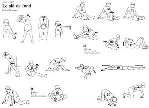 diagram of stretches marykaa s fitness log 24