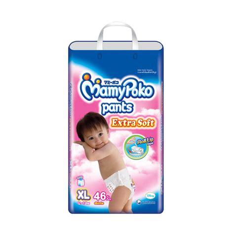 Popok Bayi Mamy Poko 38s Soft Bag jual mamy poko soft xl 46 pcs