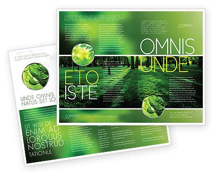 helping nature brochure template design and layout nature environment brochure templates design and