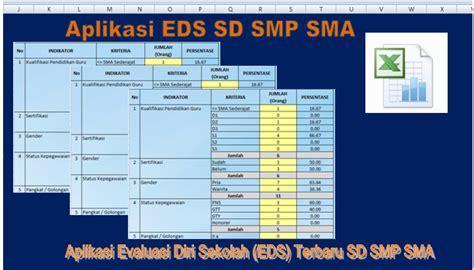 format evaluasi diri guru smp aplikasi evaluasi diri sekolah eds terbaru sd smp sma