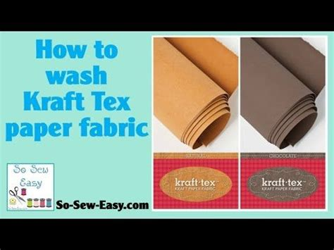 How To Make Fabric Stiff Like Paper - 1000 images about kraft tex on gift card
