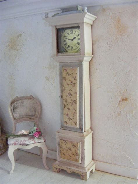 shabby chic grandfather clock 1000 images about little time clocks on pinterest
