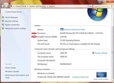Hardisk Pada Laptop Mengetahui Kapasitas Memory Processor Dan Hardisk Pada Pc Refreshing