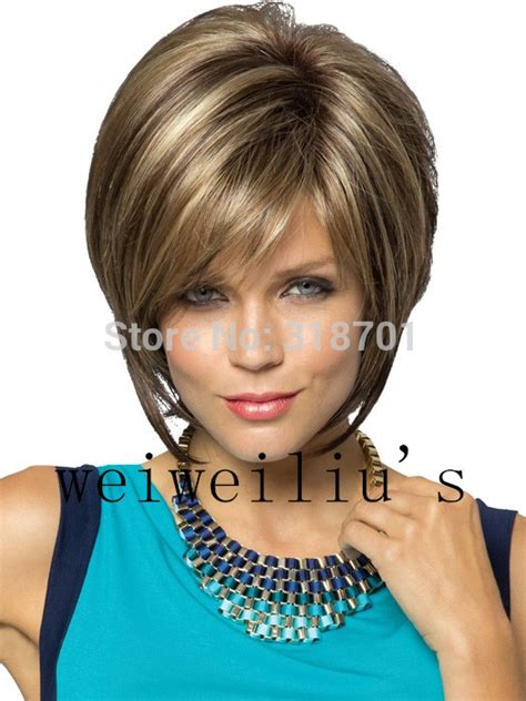 fake hair highlights for pixie cuts aliexpress com buy new stylish synthetic wigs pixie cut