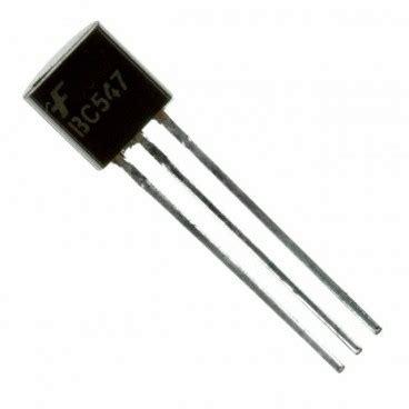 bc547 npn transistor operation 10 x bc547 transistors npn boutique semageek