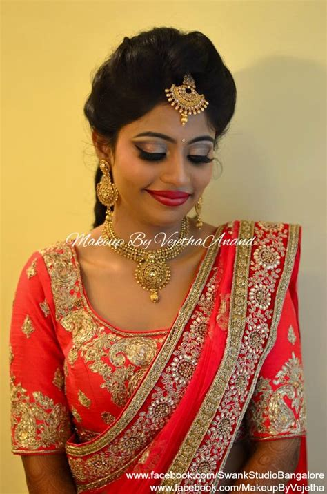 indian hairstyles with lehenga indian bride keerthi wears bridal lehenga and jewelry for
