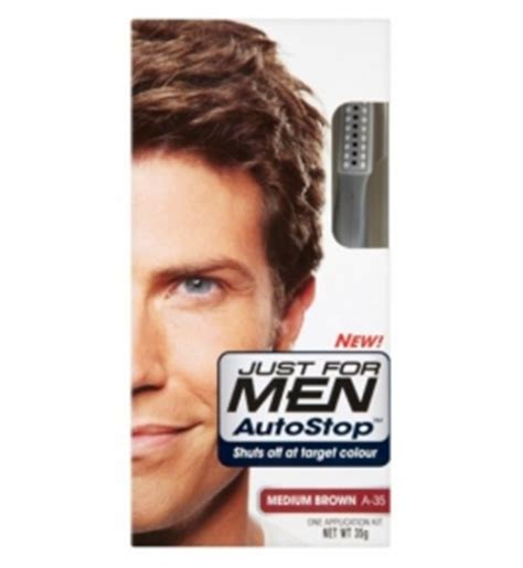 just for men autostop men just for autostop formula medium brown
