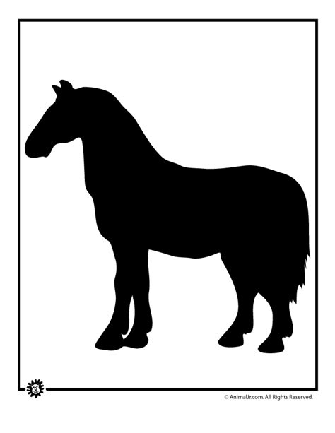 horse templates for photoshop horse template woo jr kids activities