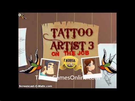 tattoo games for kids for 2013