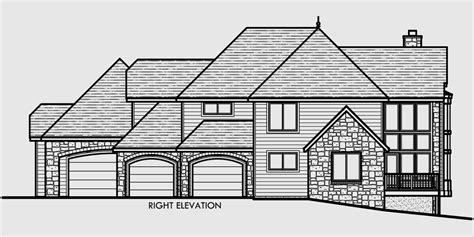 house plans 4 car garage luxury home plans with 4 car garage storybook house plan with 4 car garage 73343hs 2nd