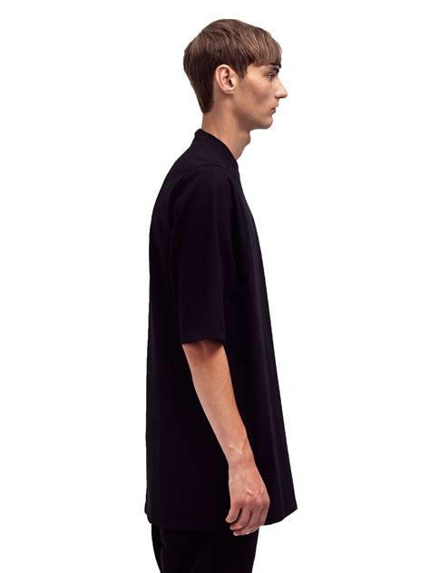 Black Blouse Oversized Kemeja Polos Diskon rick owens mens oversized crew neck t shirt in black for lyst