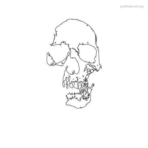 printable stencils skull skulls stencils skulls pinterest skull stencil