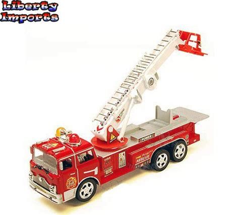 toy fire trucks with lights and sirens 12 bump go rescue fire engine truck kids toy with