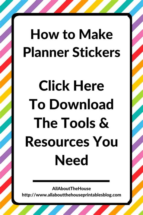 make printable stickers online how to make your own planner stickers the tools and