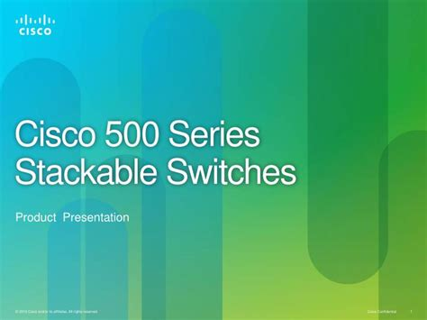 cisco powerpoint template ppt cisco 500 series stackable