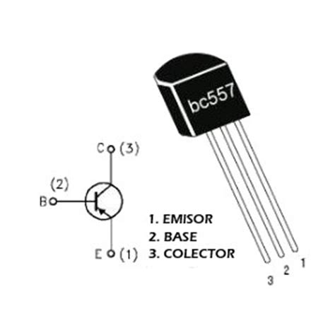 bc557 pnp transistor description bc557 transistor geekbot electronics