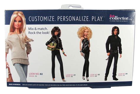 barbie basics accessory pack  collection