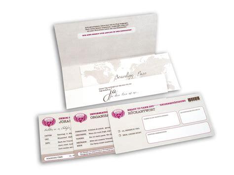Hochzeitseinladung Boarding Pass by Weltenbummler Flugticket Boarding Pass Hochzeitseinladung
