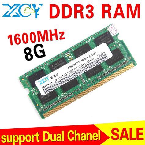 Ram 8gb Buat Laptop wholesale ddr3 8gb ram notebook memory pc ddr3 ram ddr3 1600mhz sodimm 1 5 power in rams from