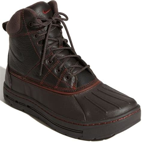Nike Trekking Brown Brown nike woodside hiking boot in brown for oxen brown lyst