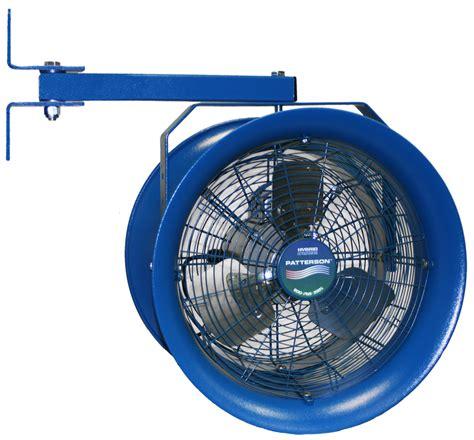 patterson 30 high velocity fans 30 quot high velocity fan patterson industrial fans