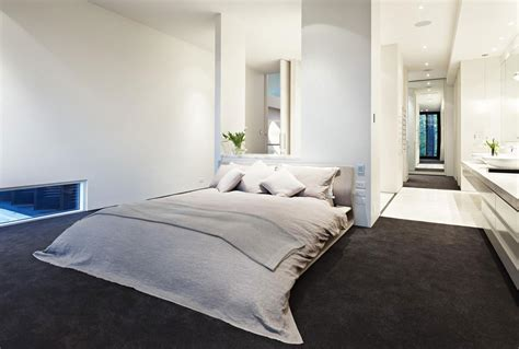 black carpet for bedroom verdant avenue home in melbourne australia by robert