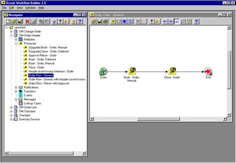 oracle workflow builder oracle order management using oracle workflow in oracle