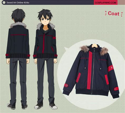Jaket Doraemon Zipper By Anime Ols sword kirito winter coat by kiritosword on