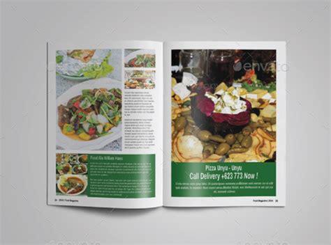 restaurant magazine layout 10 professional restaurant magazine templates for