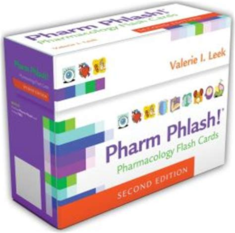 pharmacology flash cards 4e books pharm phlash pharmacology flash cards edition 2 by