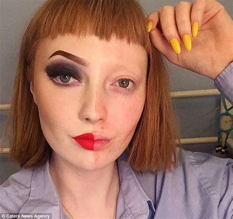 makeup for teens maisie beech who posted selfie with make up on half