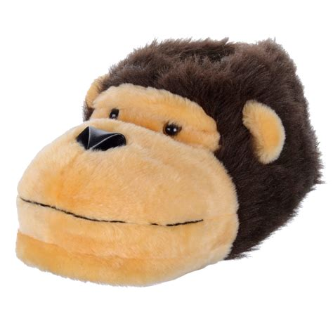monkey slippers mens novelty slippers monkey design soft
