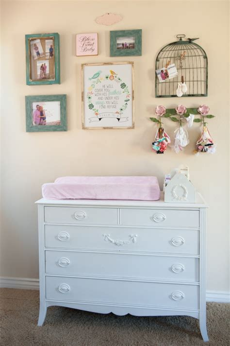 Gracie S Shabby Chic Nursery Project Nursery Shabby Chic Changing Table